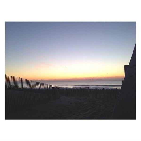 bayhead sunrise